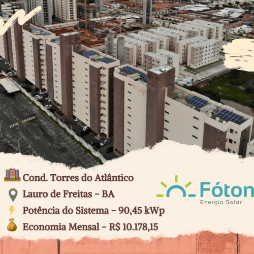 Gerador Solar Fóton - Condominios