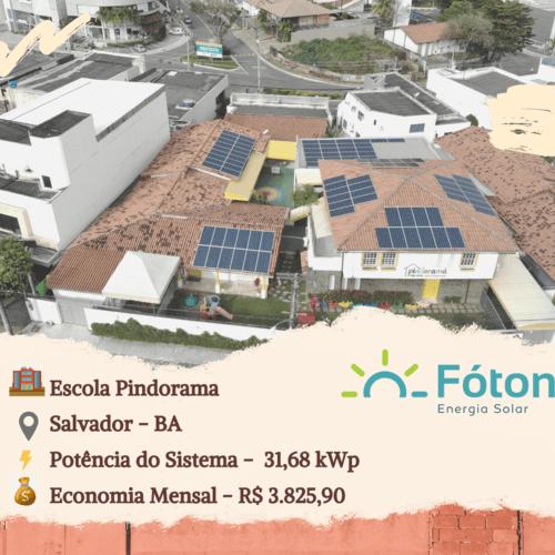 Gerador Solar Fóton - Educação
