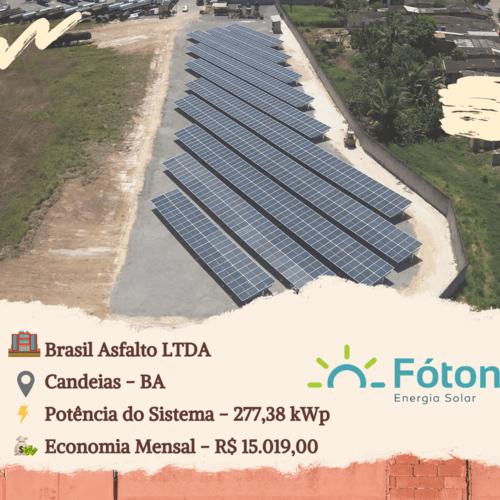 Gerador Solar Fóton - Industrial