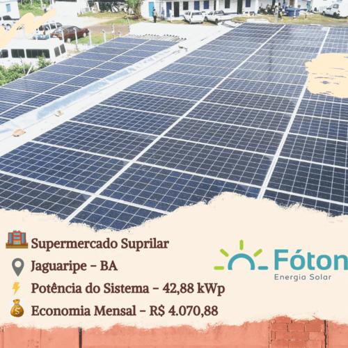 Gerador Solar Fóton - Mercados