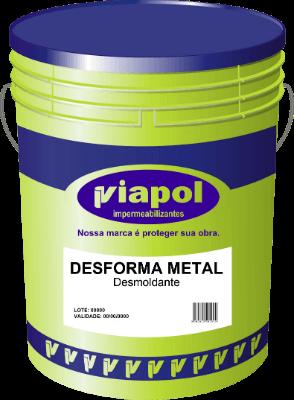 Desforma Metal - Desmoldante para Formas Metálicas