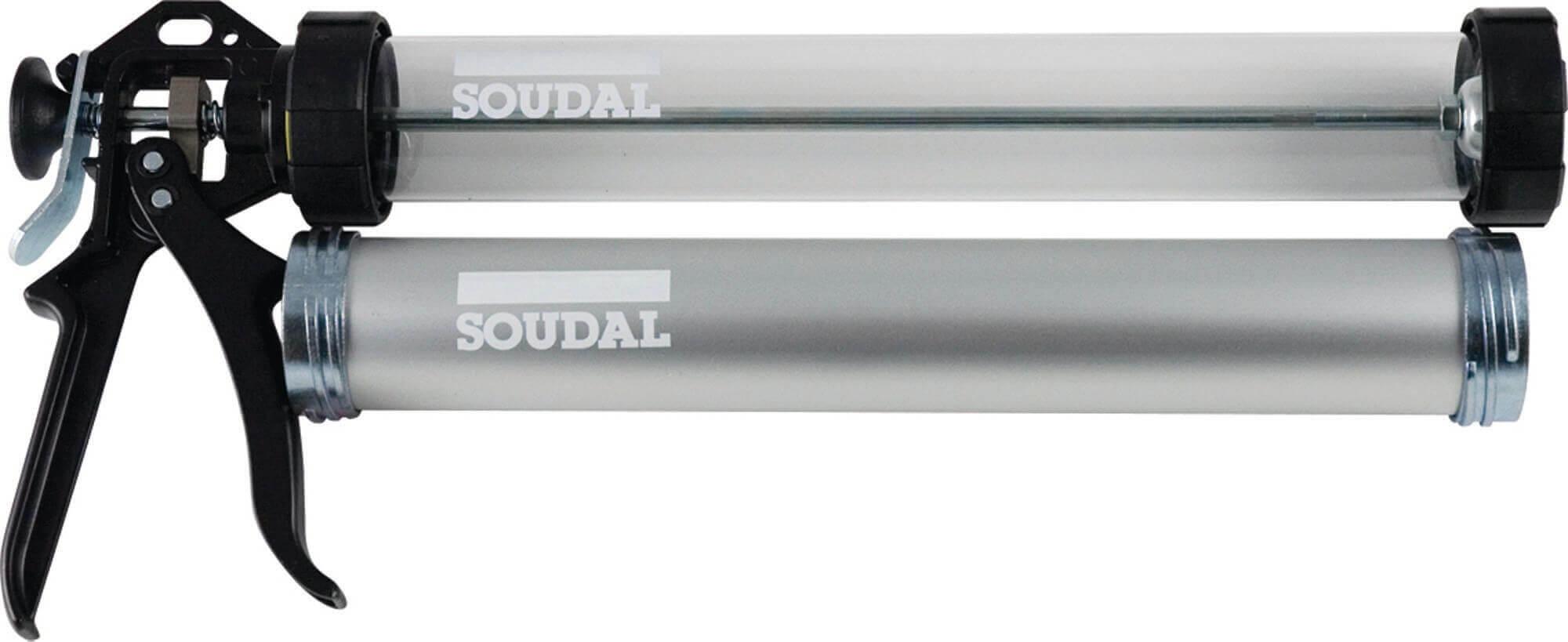 Pistola manual para aplicação de selantes 600ml acrilico