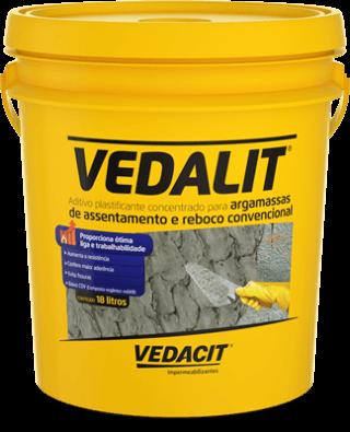 Vedalit - Plastificante para argamassa